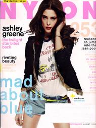 Nylon Magazine August 2012